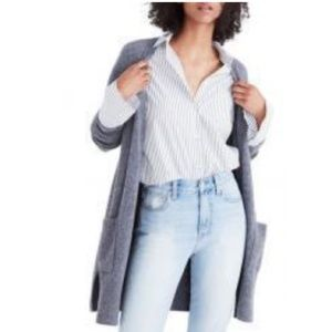 MADEWELL | kent Cardigan Sweater grey